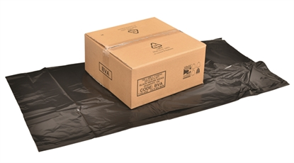 Picture of EX HEAVY DUTY BLACK COMPACTOR SACK 30X39X45 [100]
